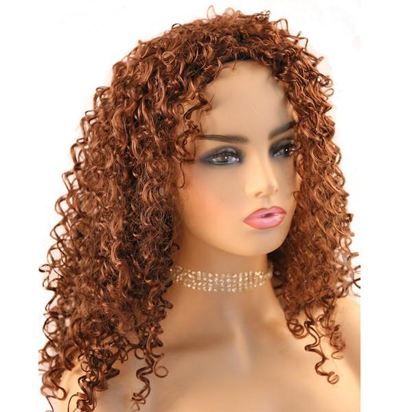 Großhandel Dunkelbraune Kurze Synthetische Lockige Perücke Cosplay Perücken Für Schwarze Frauen Mode Kurze Lockige Haare High Sythetic Fiber
