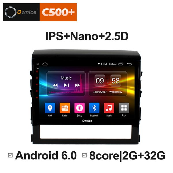 "9"" 2.5D Nano IPS Screen Android Octa Core/4G LTE Car Media Player With GPS RDS Radio/Bluetooth For Toyota Land Cruiser 2016 #5866"