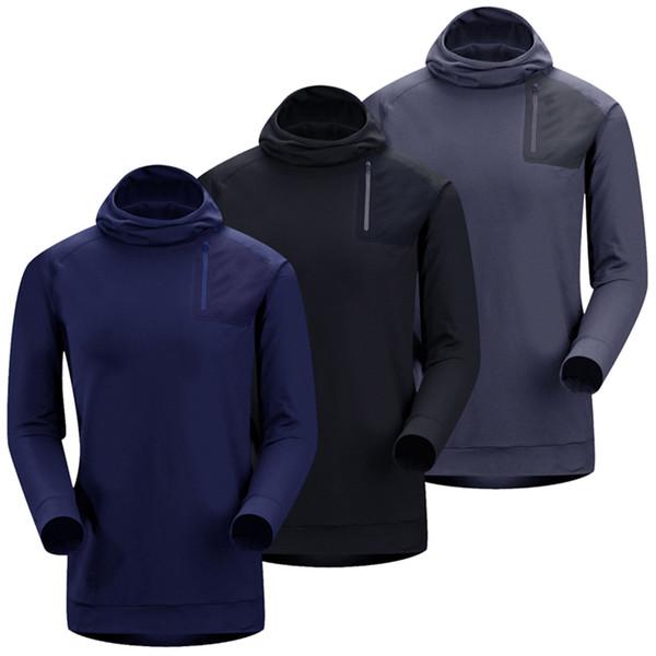 2019 New Outdoor Fleece Thermal Windproof Jacket Male Outdoor Sports Anti-UV Anti-sweat Jacket Hiking Fishing Trekking Men Coat