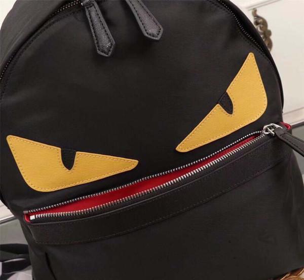 OLHO monstro mochila de nylon mochila escolar saco de viagem para mamãe e crianças 3 cores frete grátis