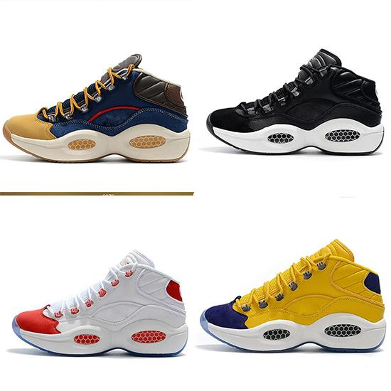 best selling HOT Question Mid Q1 Basketball Shoes shoes Allen Iverson Answer 1s Zoom mens running Athletic shoes luxury Elite Sport Sneakers EU40-46