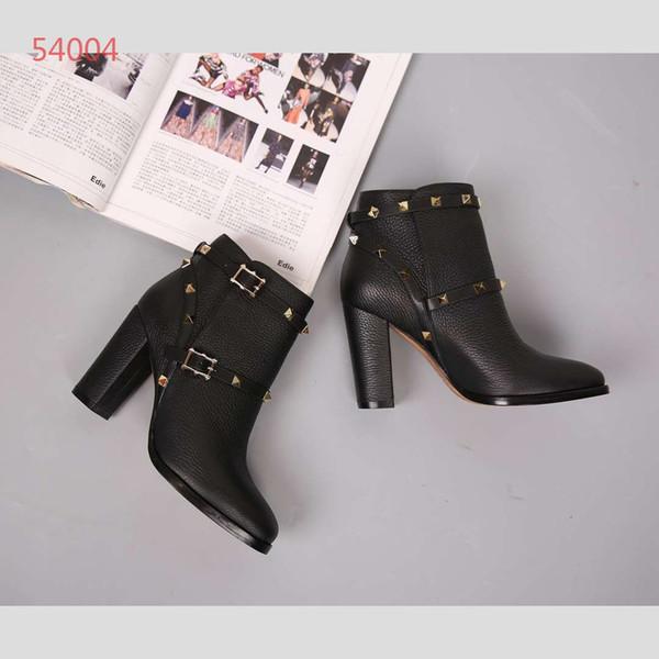 Hot vendre 2019 haute qualité classique bottes hautes femmes bottes bottes botte de neige hiver bottes en cuir US TAILLE 35-40