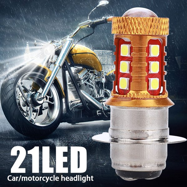 Vehemo H4 P15D DC AC12-60V Modifiye Lo Motosiklet Otomotiv Sis Işık Ampüller Moto Yüksek Güç DRL Farlar Sinyal Işık Otomobil Hi /
