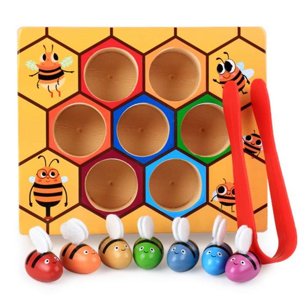 Satin Al 1 Takim Ari Ve Ari Kovani Eslestirme Oyunu Bebek Oyuncak