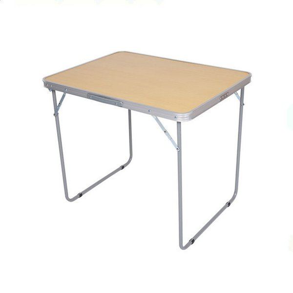 Lower price small travel portable aluminum outdoor camping picnic folding square table