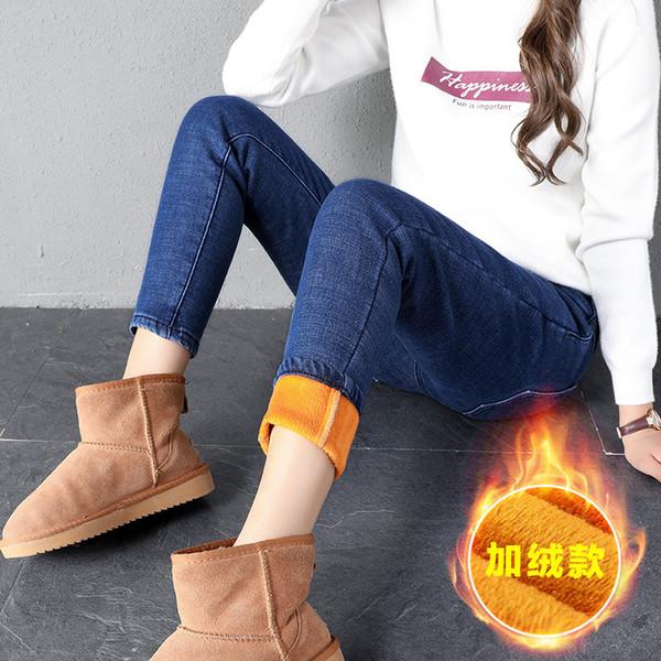 delle donne libere di trasporto 2019 l'inverno più velluto della vita elastica dei jeans era matita sottile dei jeans piedi