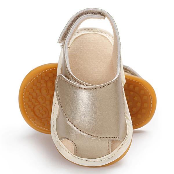 2019 Summer Baby Boy Girl Sandals Newborn PU Casual Non-Slip Sandals Fashion Children\'s Shoes