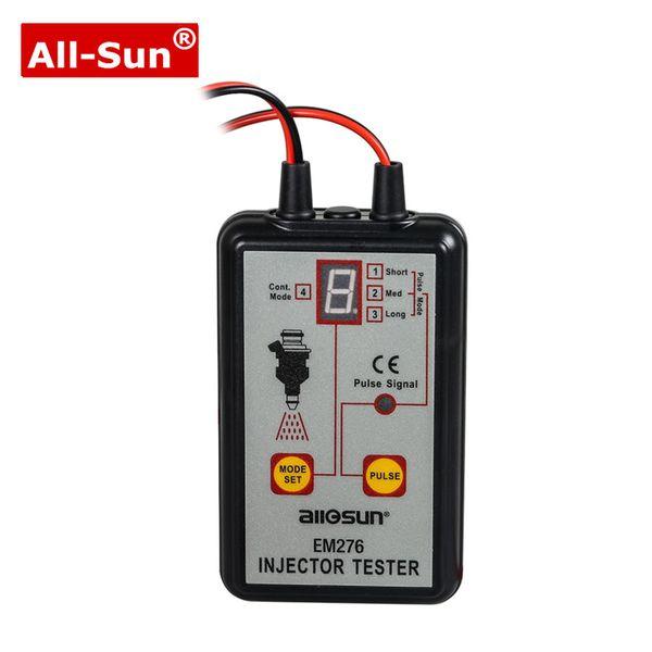 ALL SUN EM276 Professional Injector Tester Injector de combustível 4 Pluse Modos Tester poderoso sistema de combustível Scan Tool EM276