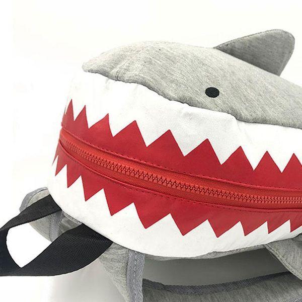 New Casual Parent-child Children MIni Backpack Rucksack School Bag Travel Backpack Cute Shark Style For Teenage Child