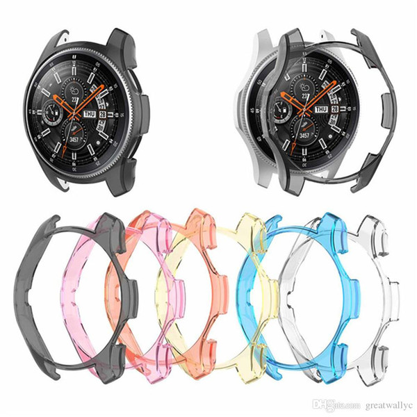 Transparent Protector Shell Protective Case Frame Cover For Samsung Galaxy Watch 42mm 46mm Gear S3 Frontier Smartwatch