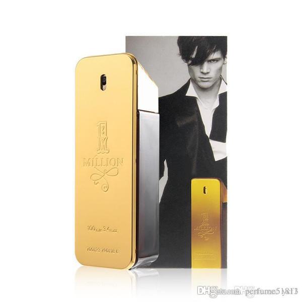 Hot neues Modell verkauft Millionen Männer 100ml Parfüm frischen Duft dauerhaft Parfüm Fabrikpreis kostenlos einkaufen