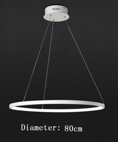 Diâmetro de 1 anel 80cm