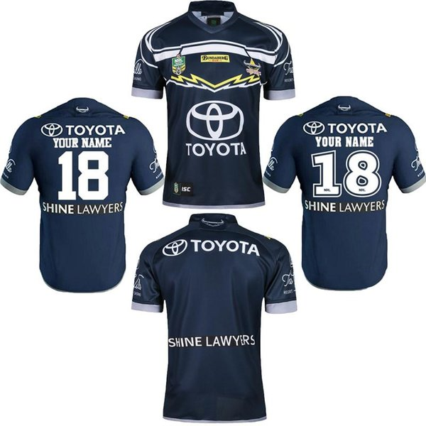 best service 0cc93 3391b 2019 Thailand NRL JERSEYS NORTH QUEENSLAND COWBOYS Rugby NRL Captain  America Marvel Rugby Shirt 2018 Cowboys Rugby Shirts Size S 3XLCan Print  From ...