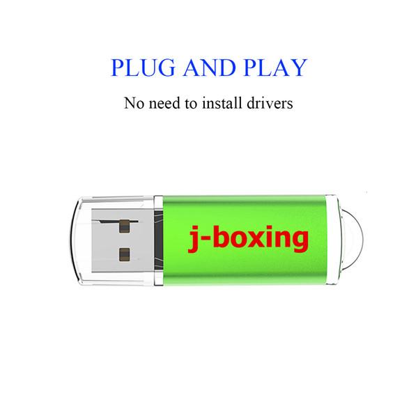 Green Bulk 20pcs 512MB USB Flash Drive Flash Pen Drive Rectangle High Speed Thumb Memory Stick Storage for Computer Laptop Tablet Macbook