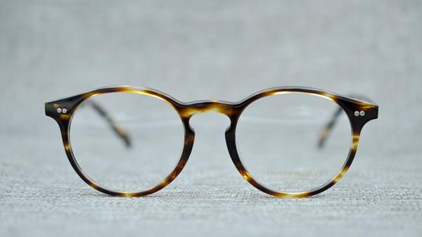 Belight Optical Oliver Peoples round Vintatge Retro fashion women men Brand spectacle frame prescription lens clear lens OV5241