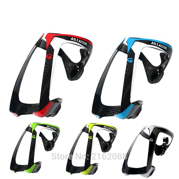 Newest ASIACOM lightest Road bicycle 3K full carbon fibre drink water bottle cages Mountain bike carbon bottle holders Free ship #301400