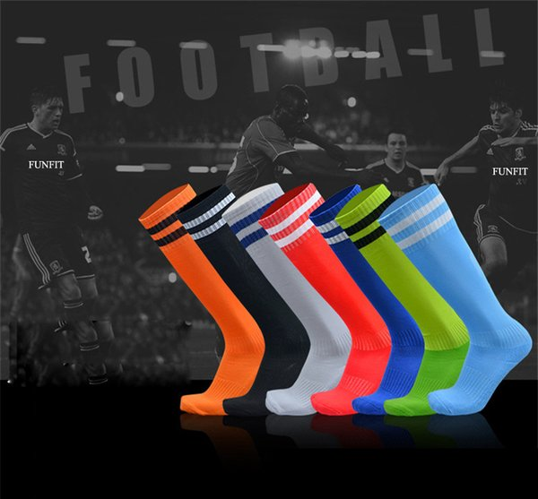 Sports Socks Knee Legging Stockings Soccer Baseball Football Over Knee Ankle Men Kids Socks Hot Sale