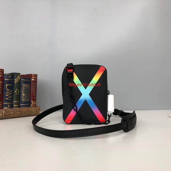 Kadınlar için sıcak tasarımcı omuz çantası siyah renk lady messenger çanta en kaliteli moda retro nakliye boyutu 12 * 16 * 4.5 cm