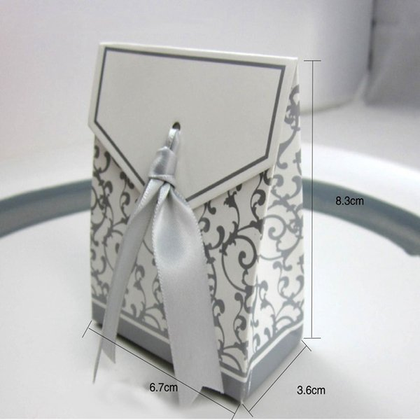 Wedding Favour Favor Bag Sweet Cake Gift Candy Wrap Paper Boxes Bags Party Birthday Baby Shower Presents Box SSA195