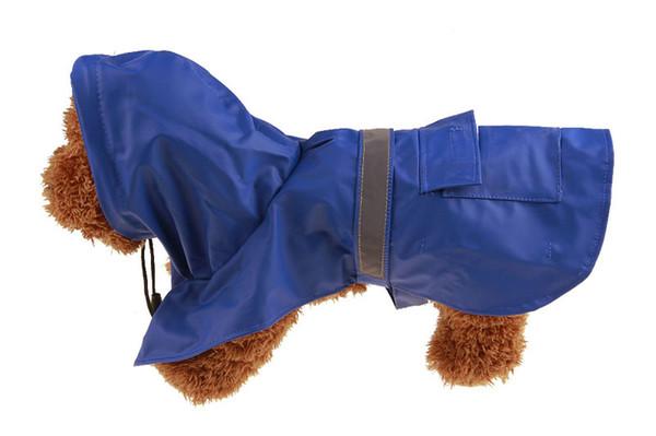 1PCS Dog Regen-Poncho Mode Haustier Hund Raincoat Small Medium Large Dog Regen Jacke Regenmantel wasserdichte PU