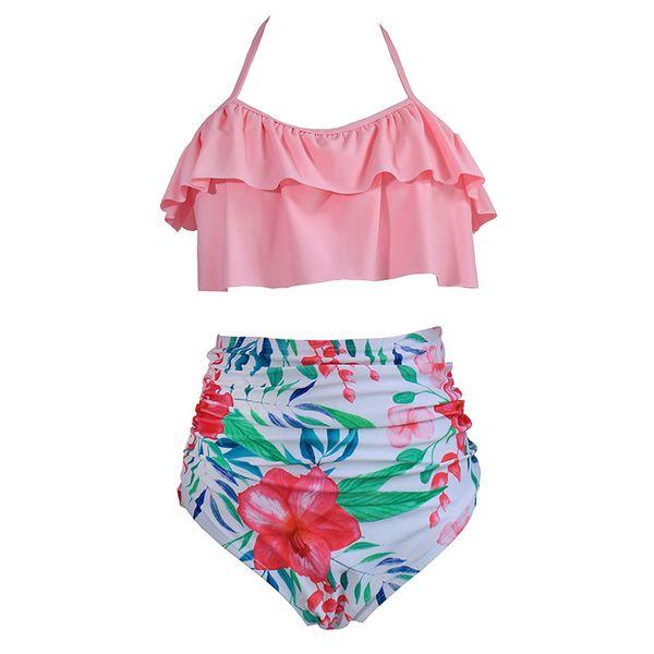 High Waist Bikini Sexy 3XL Female Swimsuit 2019 Plus Size Swimwear Women Brazilian Push Up Bikinis Set Swimming for Bathing Suit