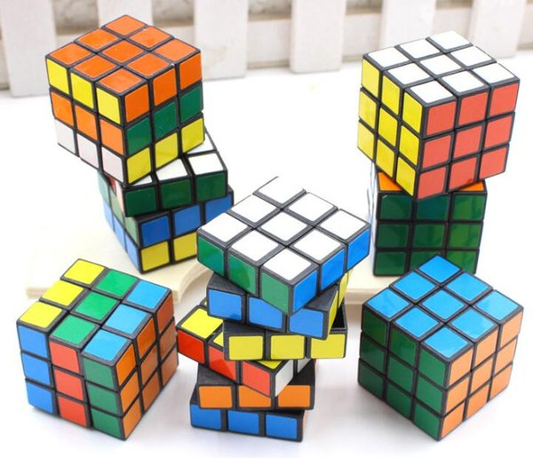 Hot Puzzle cube 3x3x3cm Mini Magic Cube Game Learning Educational Game Cube Good Gift Toy Decompression Magic toys
