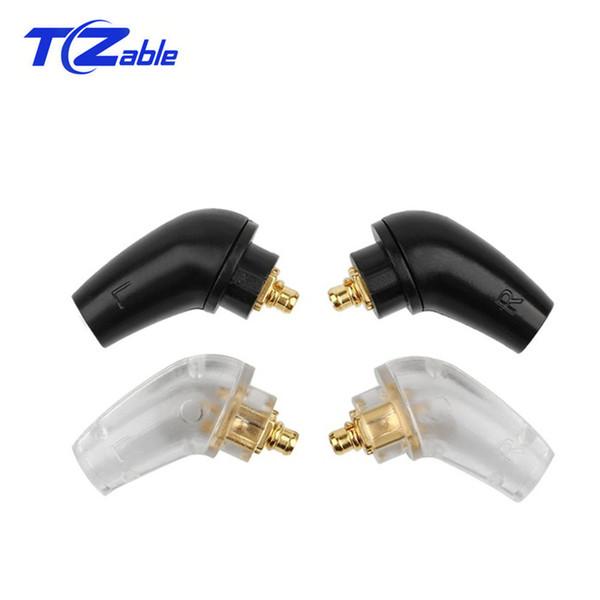Diy kopfhörer benutzerdefinierte pin splice adapter für xba-h2 xba-h3 z5 lötdraht anschluss audio jack stecker schwarz silber