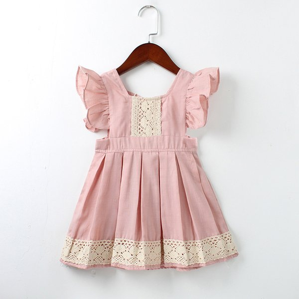1 to 5 years baby lace dress for Girls summer clothing, children kids tutu Sleeveless wedding/party boutique clothes, 2AA610DS61, Wholesale