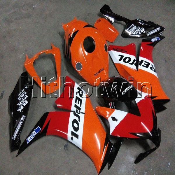23colors + Botls Molde de inyección repsol artículo de motocicleta naranja para HONDA 12 13 14 15 16 CBR1000RR 2012-2016 Motor ABS Carenado