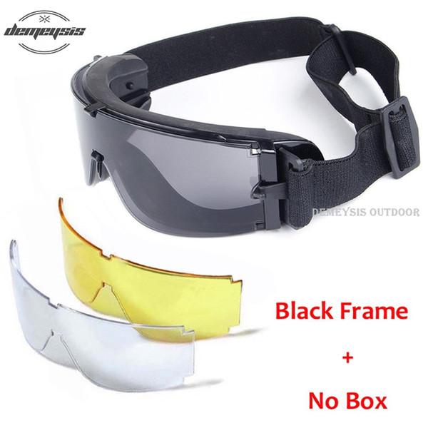 no box black frame