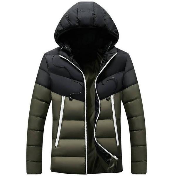 Top para hombre de la calidad del diseñador de lujo chaquetas de los hombres abajo cubre la chaqueta con letras Hip Hop chaqueta de moda masculina caliente Downs Parkas 5 colores al por mayor