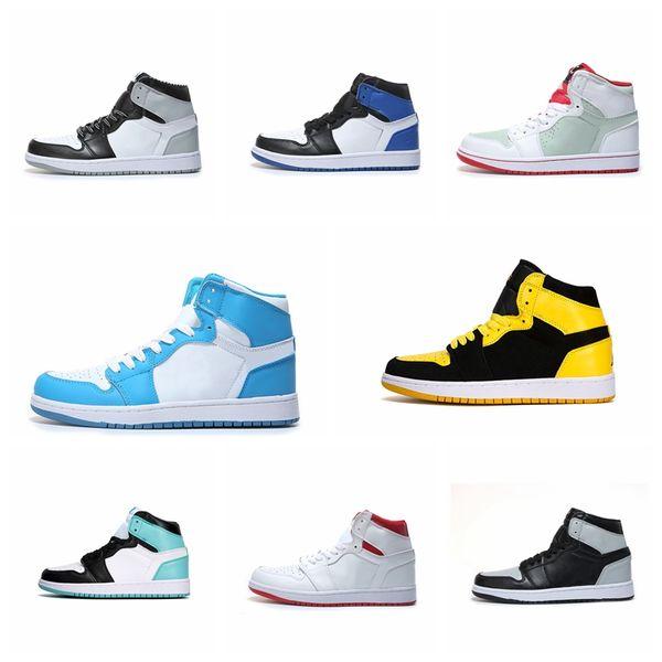 2019 New Arrive NEW 1 Single Flying Wing zapatos de baloncesto multicolores Quality 1s Women fashion luxury para hombre diseñador de la mujer sandalias zapatos
