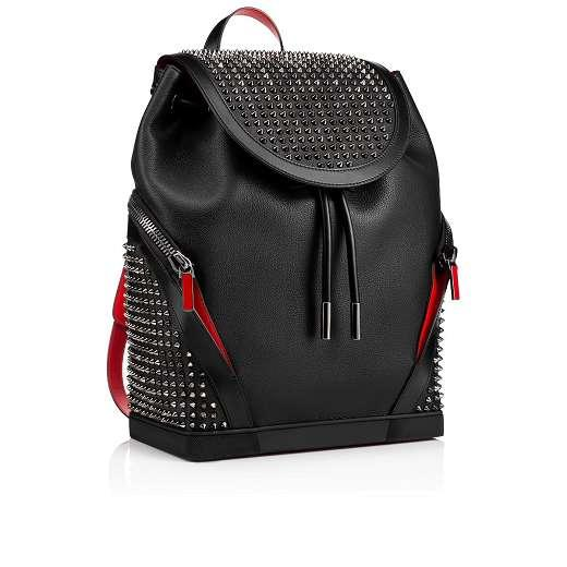 Fashion lovers backpack high quality famous redlovers chains bag fashion studded rivets women and men handbag
