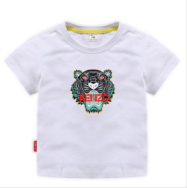 top popular 2019 Kids Designer Clothes Girl Baby Boy Fashion Print Cotton Clothes Designer Mens Designer T-Shirt Breathable Fashion Brand Luxury 2-8T 2020