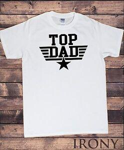 TS815 Hombres s Color Tops World 039 s Dad Father 039 s Day Camiseta Top Dad Top Gun