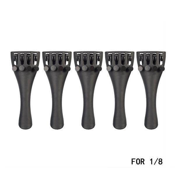 NAOMI 5PCS Violin Tailpiece Carbon Fiber ViolinTailpiece For 1/8 Violin Parts & Accessories New