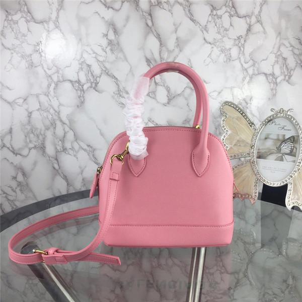 2019 High Quality Fashion Shell Handbags Genuine leather Crossbody Bag Shoulder Tote Bags 5 colors