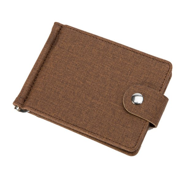 2019 Men Pu Leather Card Holder Small Credit Card Wallet Fashion Men Wallets Credit Holders Card Organizer Money Bag