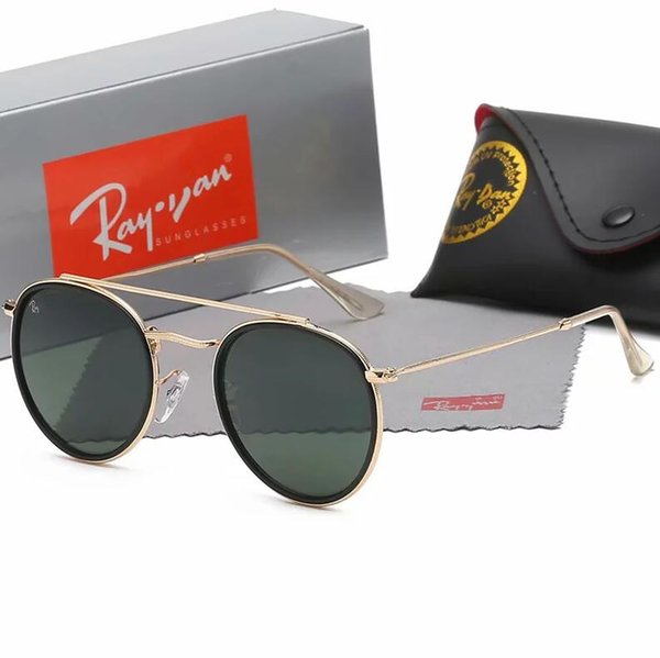 top popular 2019 Very cool Very Good outdoor sunglasses for men and women Classic style 3647 Fashion Sun glasses + Box Pilot Professional Sunglasses 2019