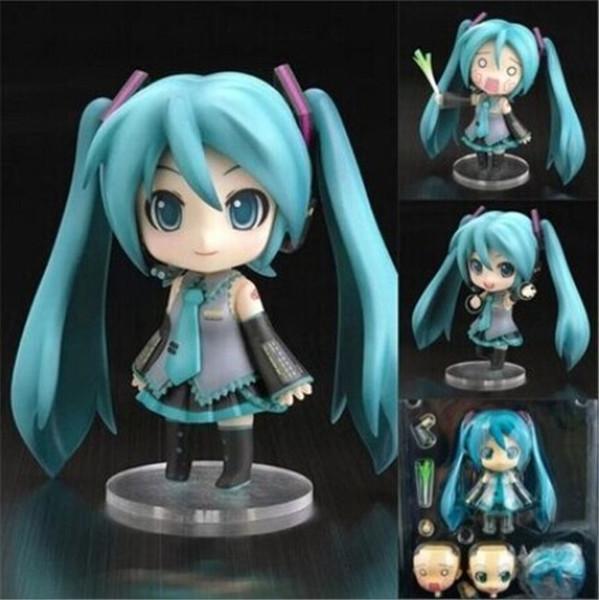 0523 Suzannetoyland 10cm Miku Hatsune Vocaloid Nendoroid 33 PVC Action Figure Toys