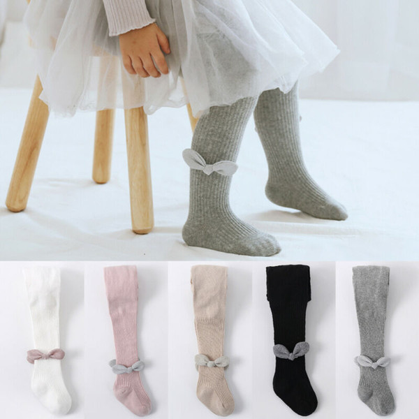 Baby Girls Toddler Kids Cotton Warm Tights Stockings Pantyhose Pants Socks G