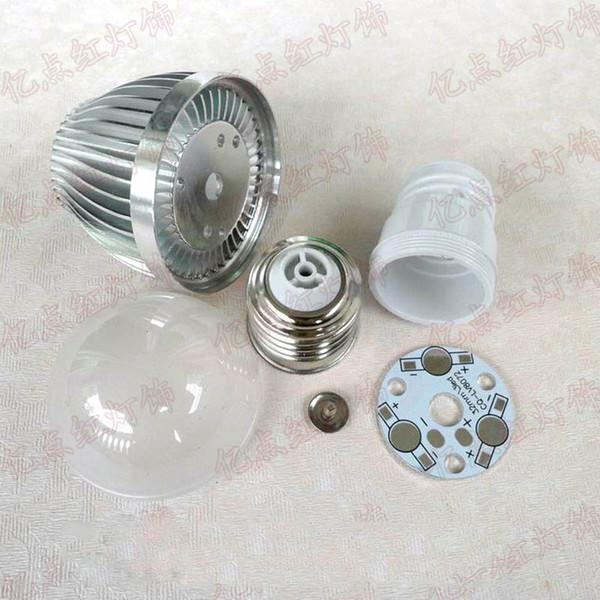 high power led bulb kits e27 bulbs house assembly kits led energy savings lamp accessories 3w 5w 7w 9w 12w 15w 18w optional