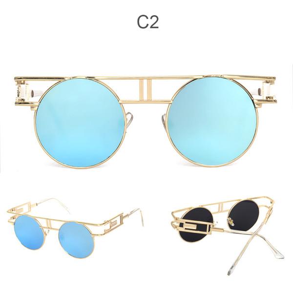 Miroir C2 or bleu