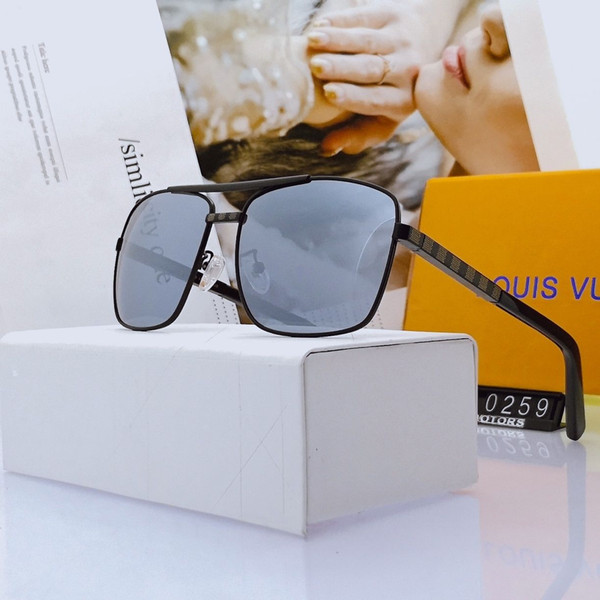 designer outdoor driving men luxury lenses sunglasse polarized goggles fashion women sun glasses vintage glasses with box
