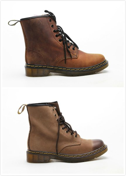 Alta calidad para hombre Martens 1460 Pascal Front Zip Boot Zapatos de diseñador de moda para hombre Zapatos de piel de vaca de capa superior importados tamaño grande 38-45