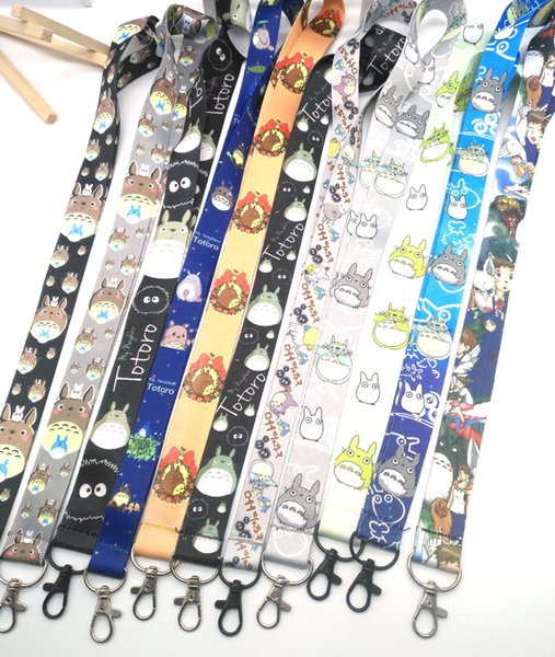 New 700 Pcs My Neighbor Totoro Necklace Strap Lanyards Cell Phone PDA Key ID Strap Charms DIY A-18