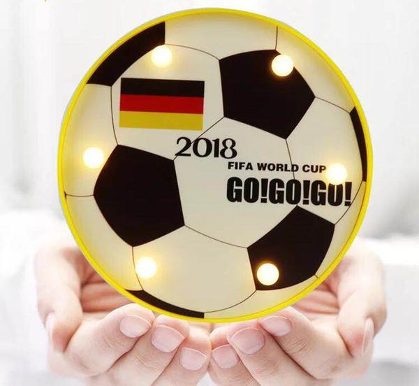 2008 russische WM Fußball Dekoration Bar Thema Dekoration Lampe Led Tischlampe Wandleuchte Fans Souvenir