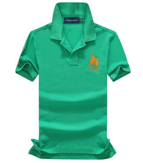 Top-Qualität 2018 100% Baumwolle China Brand Kleines Pferd POLOS Herrenmode Sommer Kurzarm-Polo-Shirt der beiläufigen Männer Designer POLOS TOPS