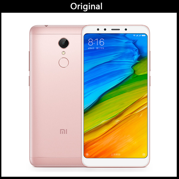 "wholesale Original Xiaomi Redmi Note 5 4GB RAM 64GB ROM Mobile Phone Snapdragon 636 Octa Core 5.99"" 18:9 Full Screen MIUI9 Dual Camera"