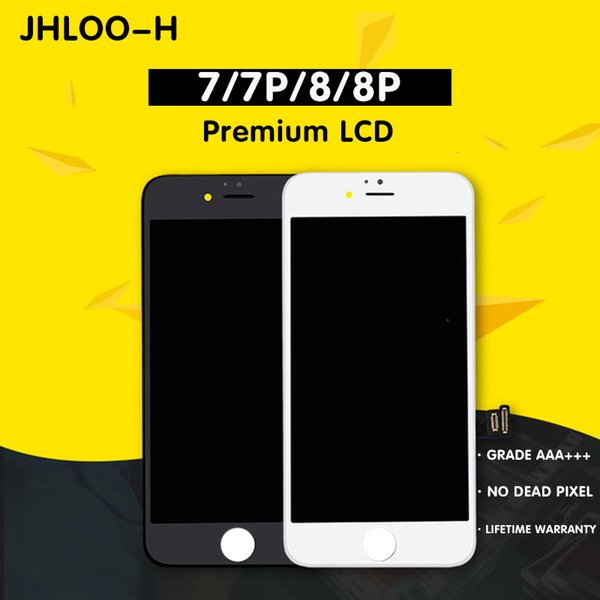 AAA+++ Quality LCD For iPhone 7 7Plus Screen Replacement No Dead Pixel Display 100% Tested With 3D Touch Warranty Free Shipping